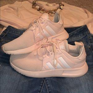 Women's Pink Adidas sneakers